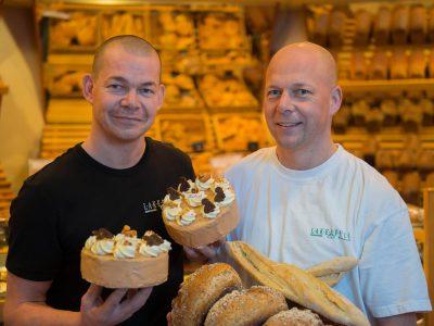 Frank en Marco Lakerveld van Bakkerij Lakerveld